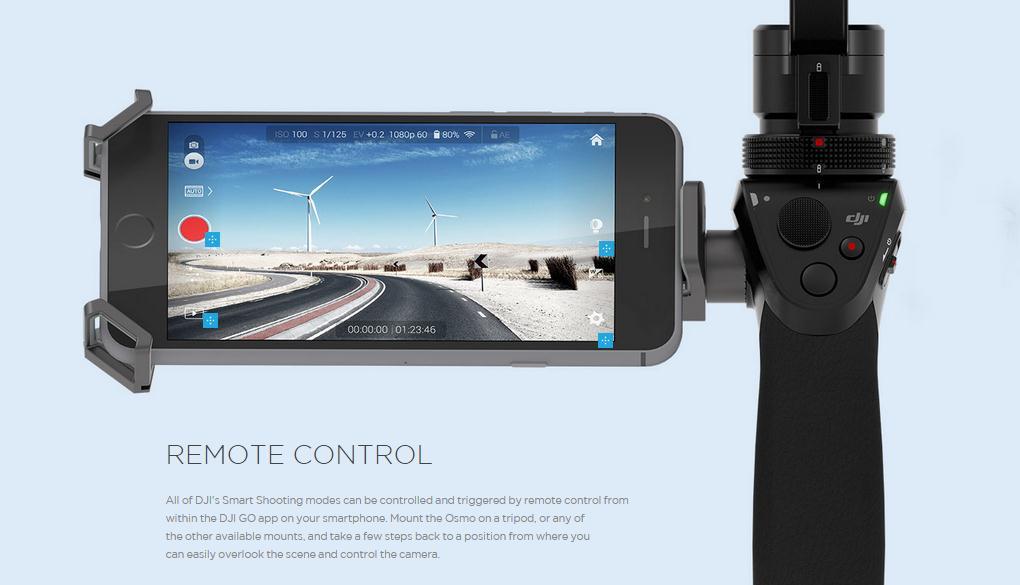 DJI OSMO with 4K Camera
