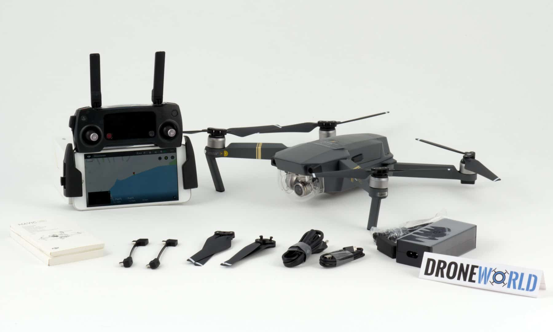 Mavic Pro - blow out accessories available at check out