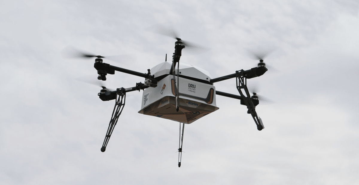 Domino's does first Pizza Delivery with Drone
