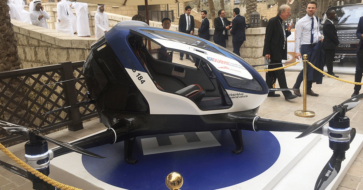 Dubai to launch a fleet of taxi drones