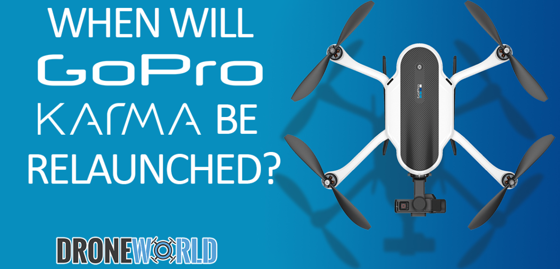 When will GoPro Karma be relaunched?