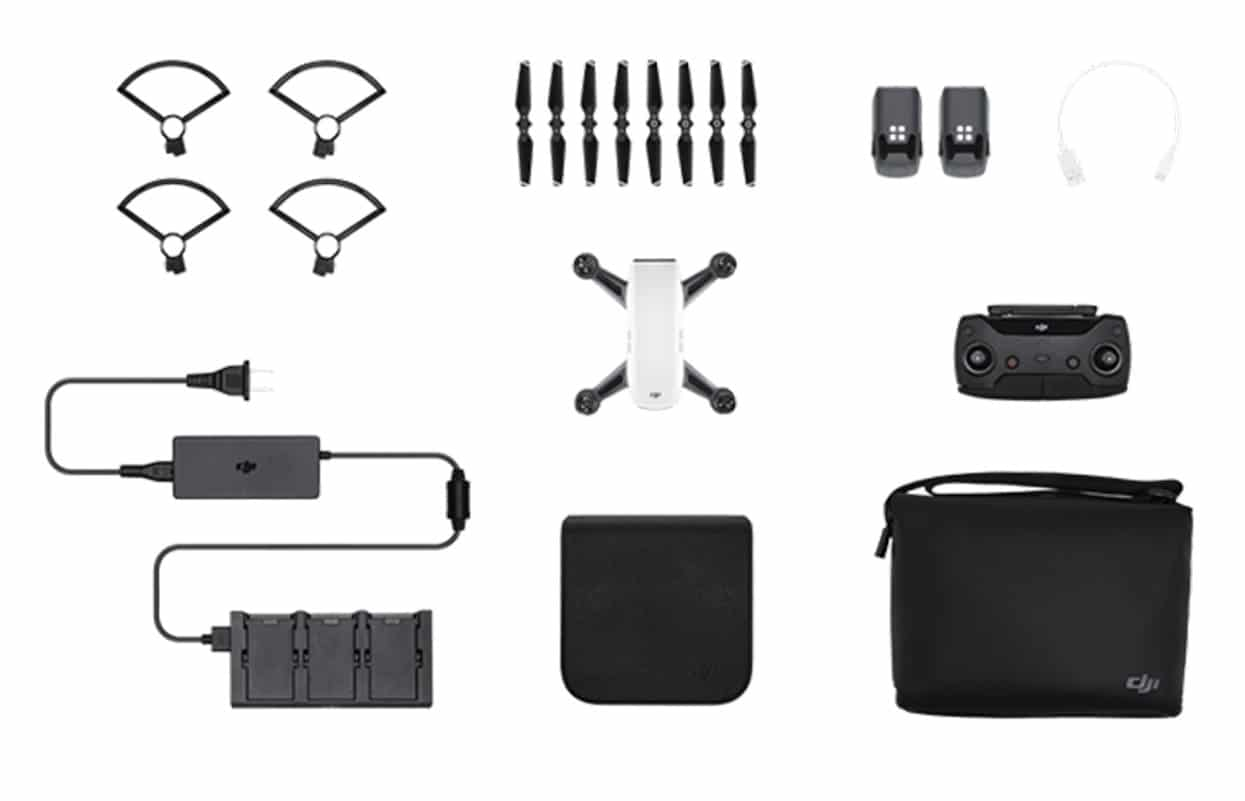 "DJI Spark ""Fly More Combo"" DJI Authorised Importer"