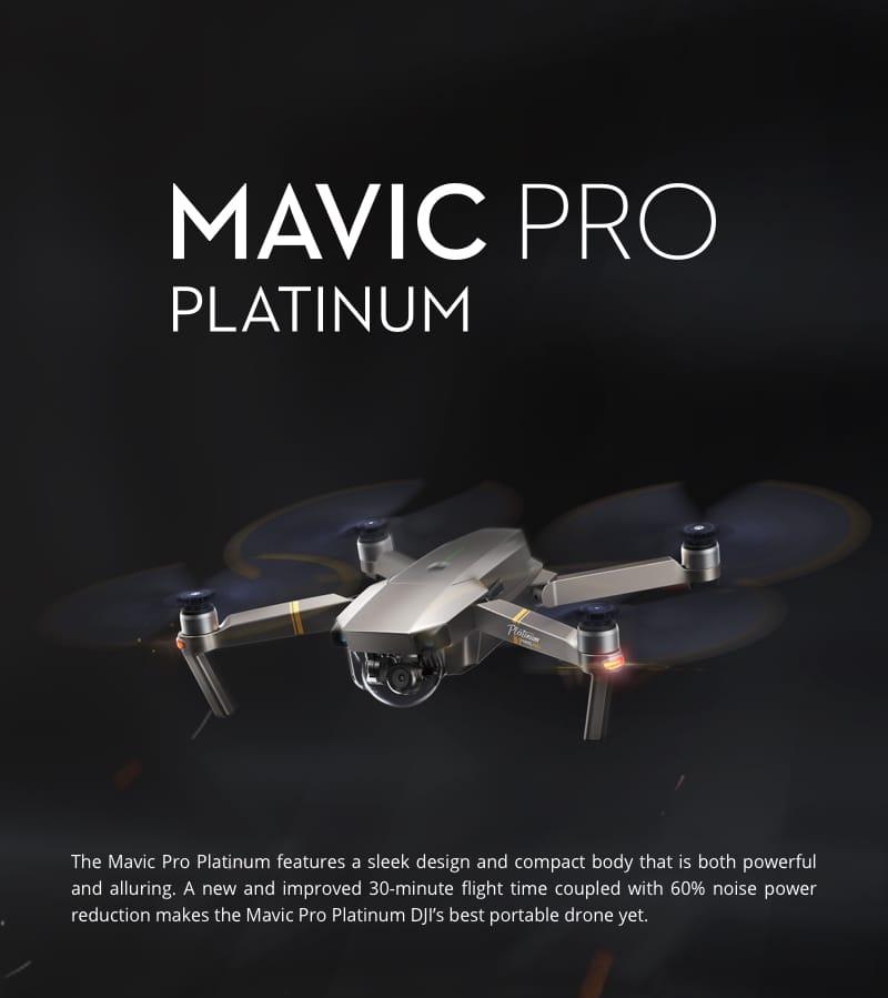 Mavic Pro Platinum Flymore Combo